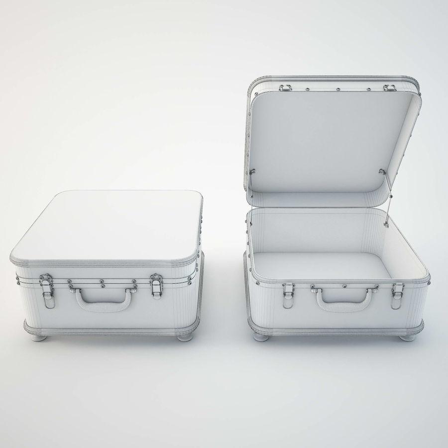 Szafka w formie walizki royalty-free 3d model - Preview no. 12