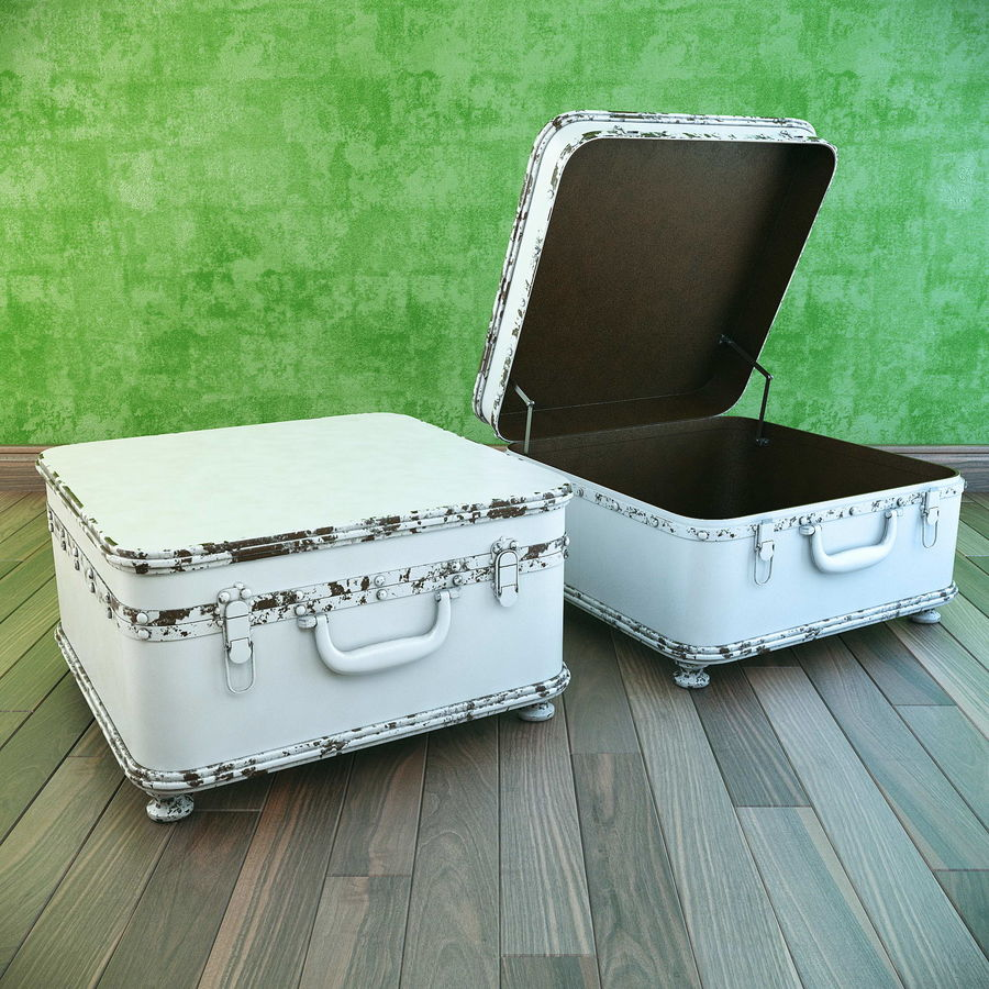 Szafka w formie walizki royalty-free 3d model - Preview no. 1
