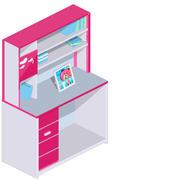 Bookshelf bodel 3d model