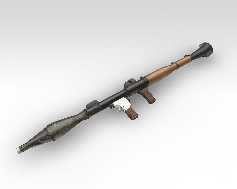 rpg7 royalty-free 3d model - Preview no. 2
