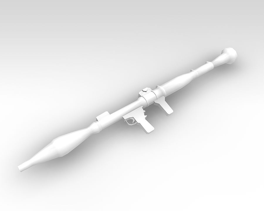 rpg7 royalty-free 3d model - Preview no. 4