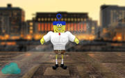 Postacie SpongeBob SquarePants Game Ready 3d model
