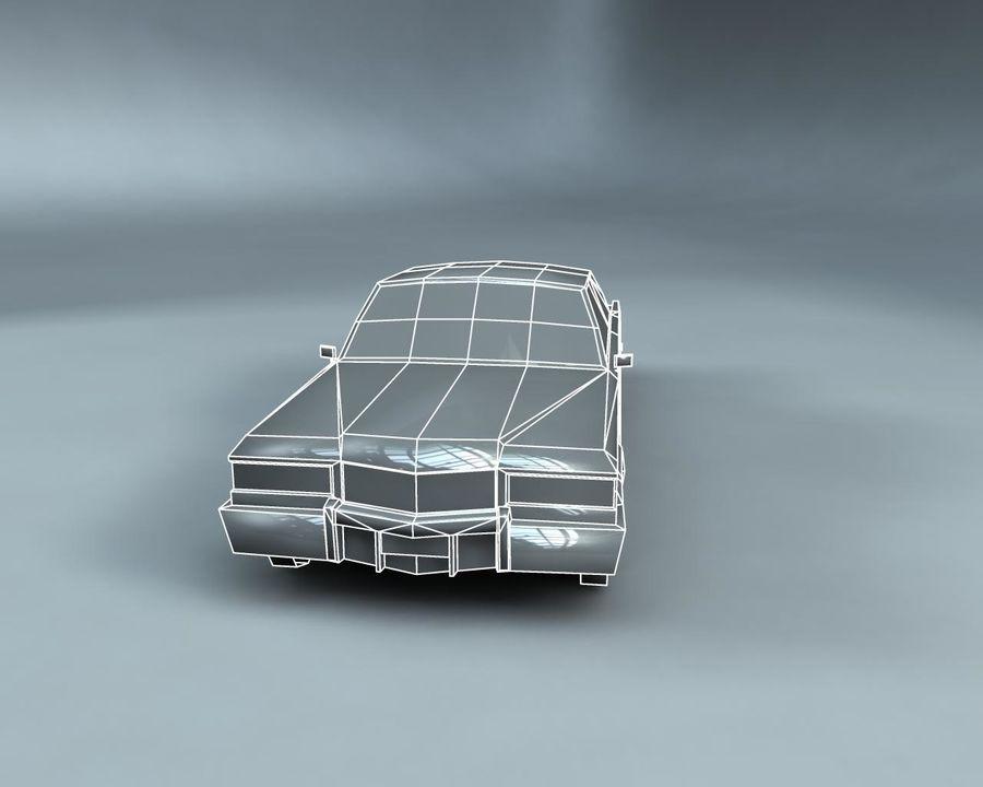 1970-talets Sedan Car royalty-free 3d model - Preview no. 18