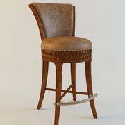 Maitland smith Bar Chair Lido Finished 3d model