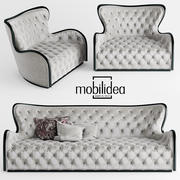 sofa mobilidea MARGOT DIVANO 3d model