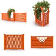 围栏 3d model