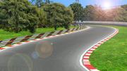 Piste de course 3d model
