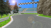 yarış pisti 3d model