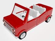 3 d漫画車モデル 3d model