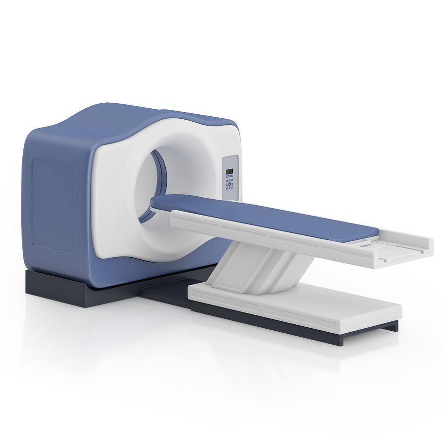 MRI-scanner royalty-free 3d model - Preview no. 3