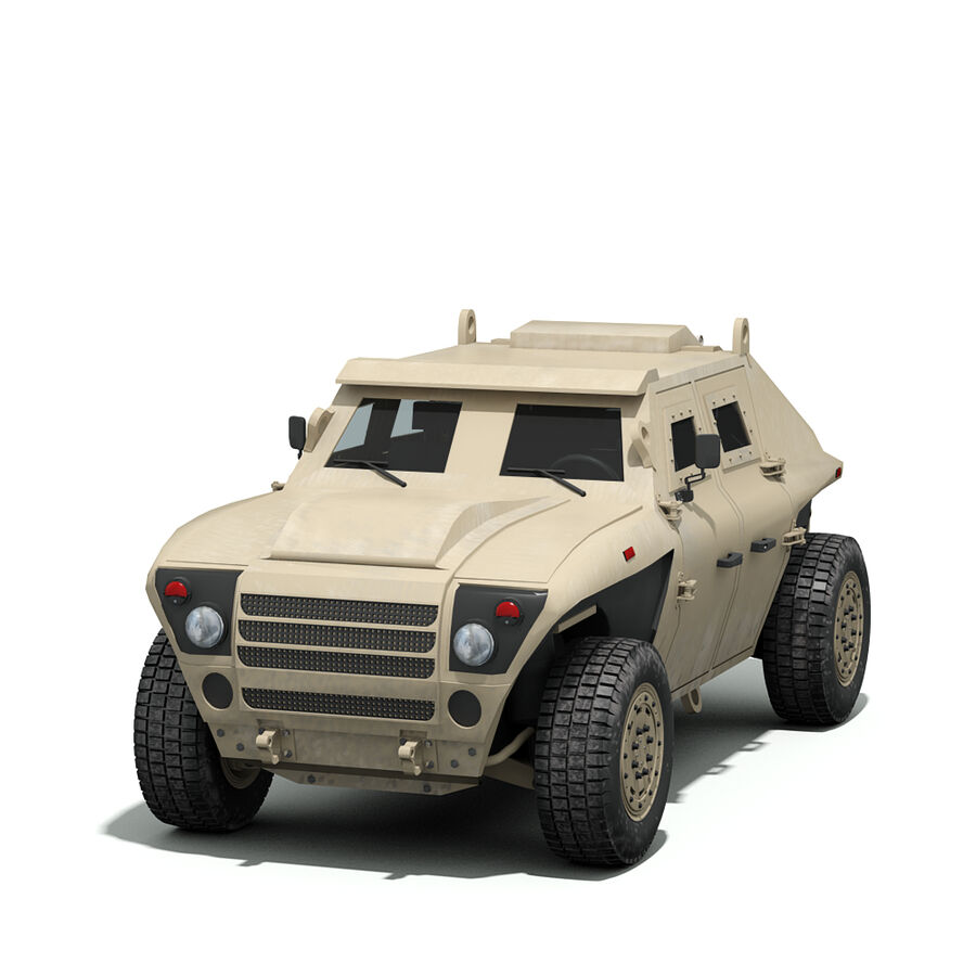 FED Alpha Armored Vehicle royalty-free 3d model - Preview no. 5