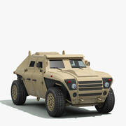 FED Alpha Armored Vehicle 3d model