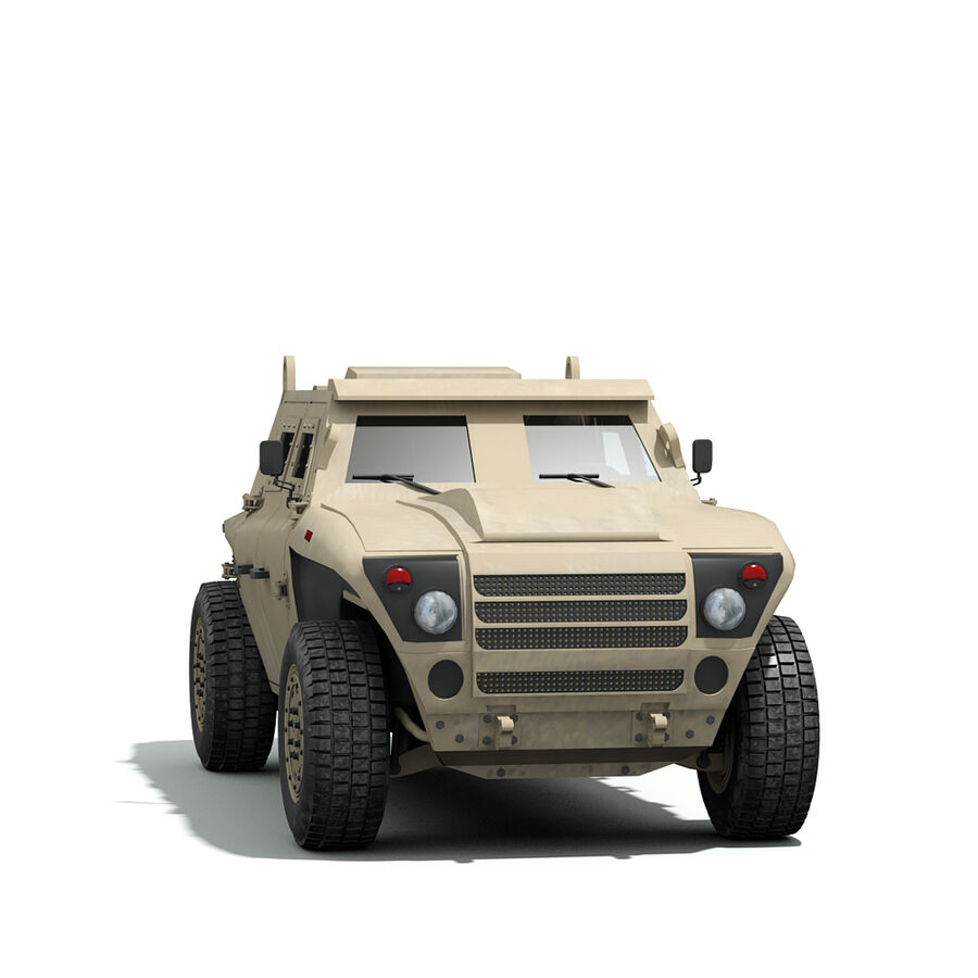 FED Alpha Armored Vehicle royalty-free 3d model - Preview no. 4