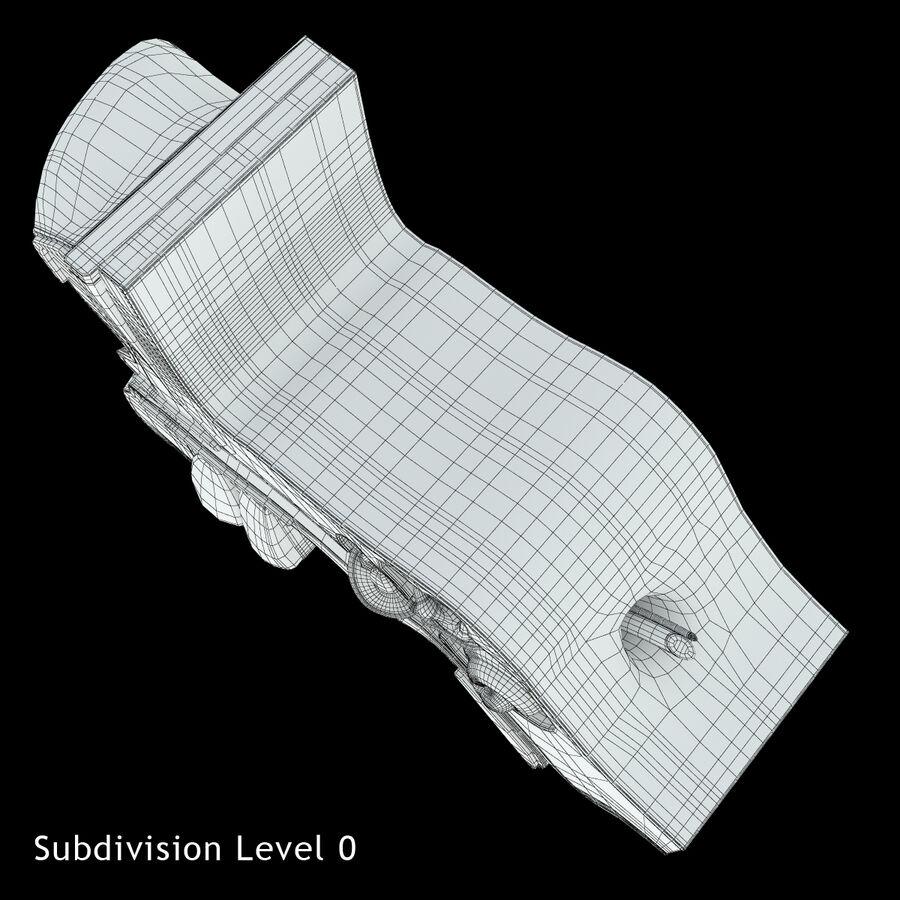 Anatomie van het oor royalty-free 3d model - Preview no. 17
