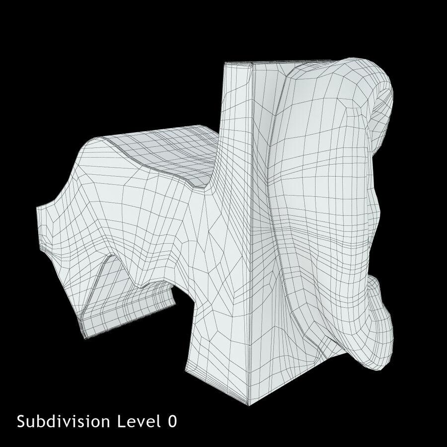 Anatomie van het oor royalty-free 3d model - Preview no. 19