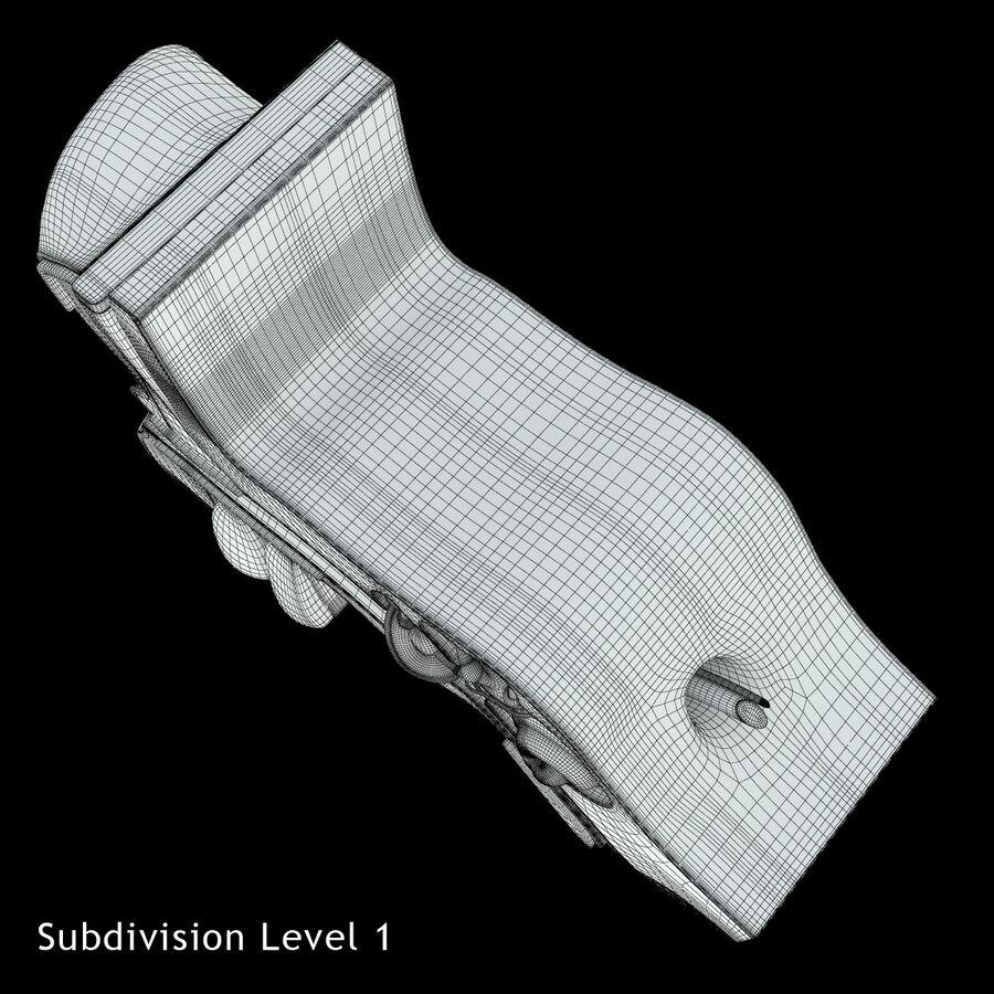 Anatomie van het oor royalty-free 3d model - Preview no. 18