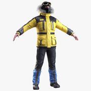 登山者 3d model