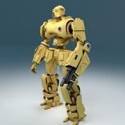 robot sci-fi(1) 3d model