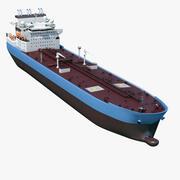 유조선 선박 3d model