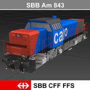 AM843 3d model