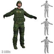 Asker 2 LOD 3d model