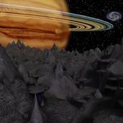 Alien Moon UDK 3d model