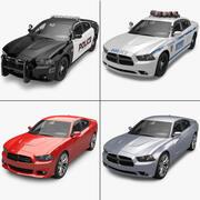 Colección Dodge Charger 2012 modelo 3d