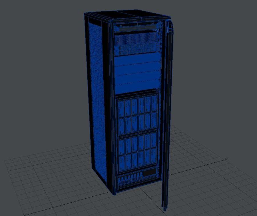 Server Rack 2 royalty-free 3d model - Preview no. 5