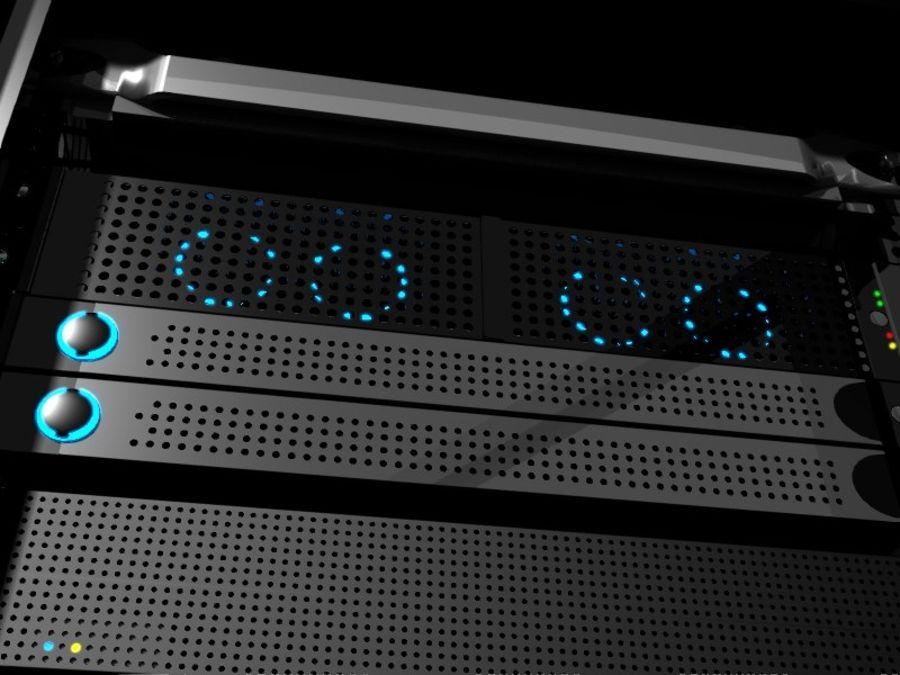 Server Rack 2 royalty-free 3d model - Preview no. 2
