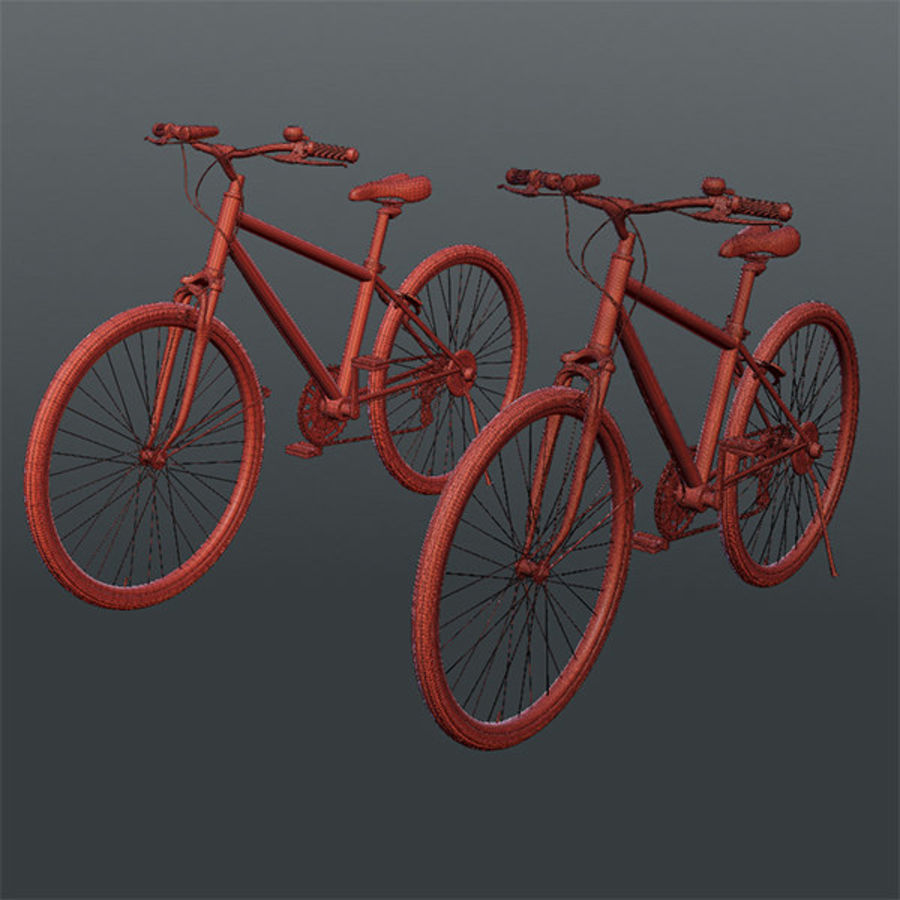 Cross Bike 01 royalty-free 3d model - Preview no. 4