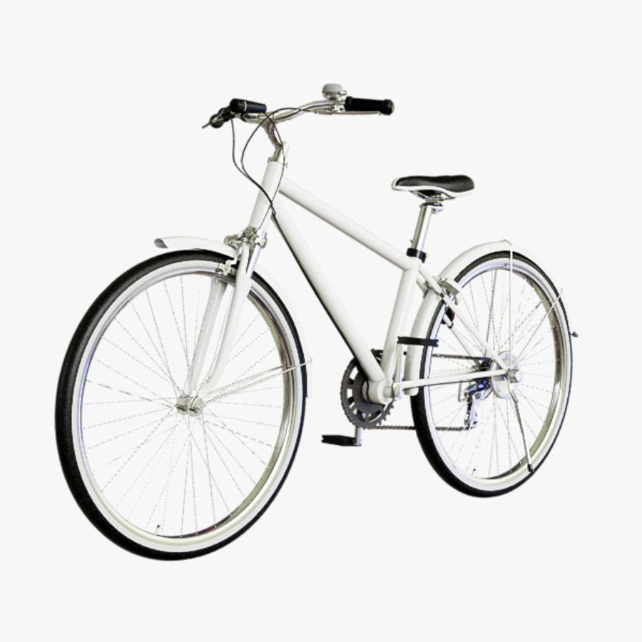 Cross Bike royalty-free 3d model - Preview no. 2