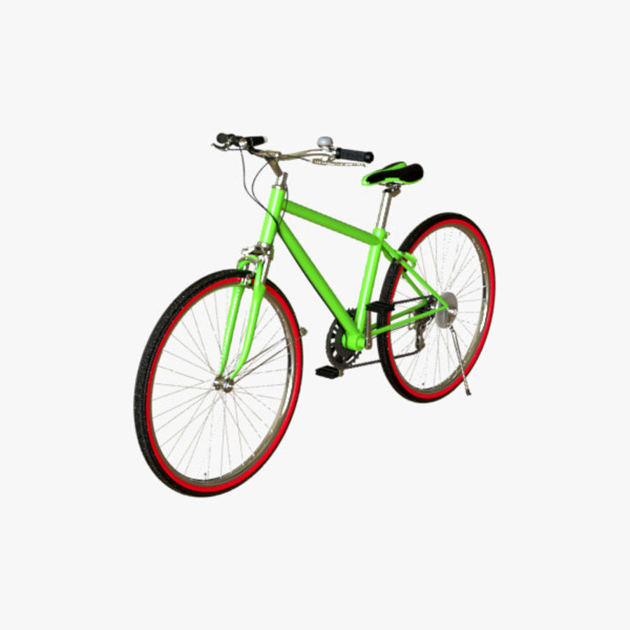 Cross Bike 01 royalty-free 3d model - Preview no. 2