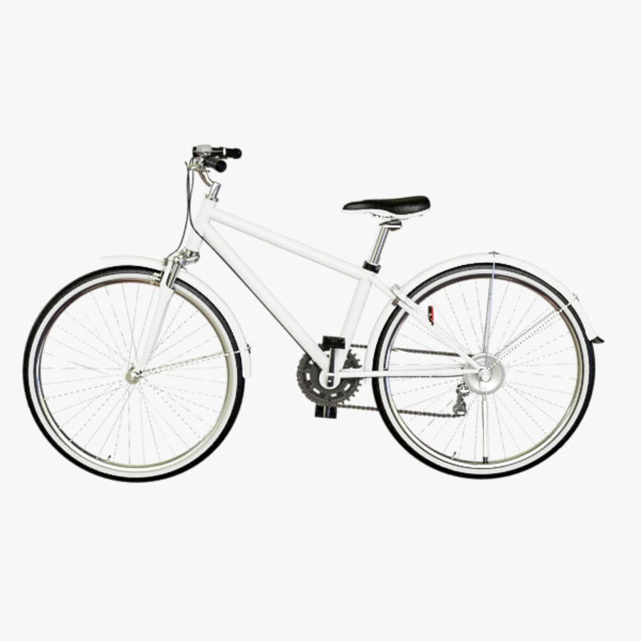 Cross Bike royalty-free 3d model - Preview no. 1