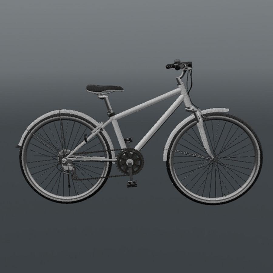 Cross Bike royalty-free 3d model - Preview no. 6