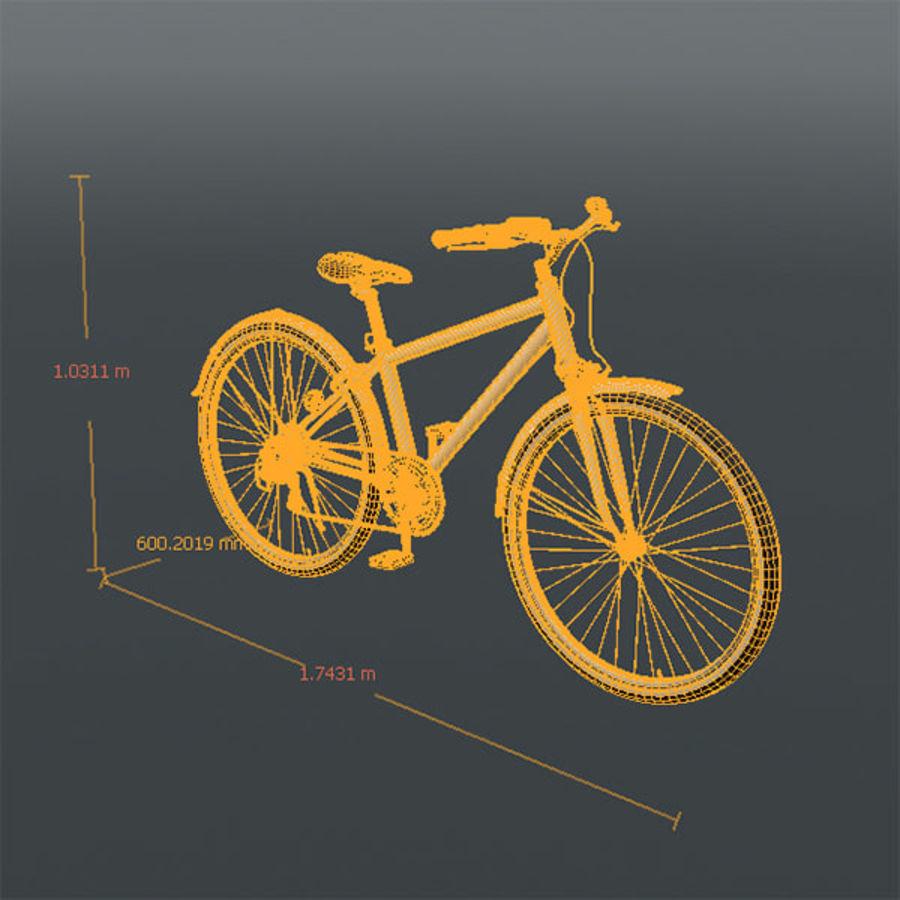 Cross Bike royalty-free 3d model - Preview no. 5