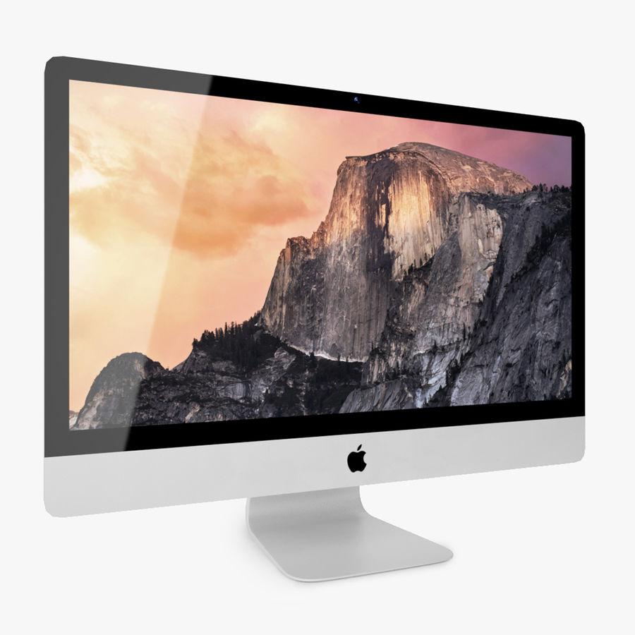 Apple iMac Com Retina 5K Display royalty-free 3d model - Preview no. 2