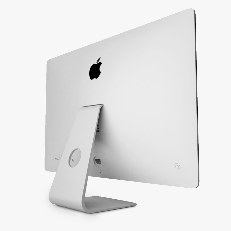 Apple iMac With Retina 5K Display royalty-free 3d model - Preview no. 4