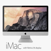 Retina 5K Ekranlı Apple iMac 3d model