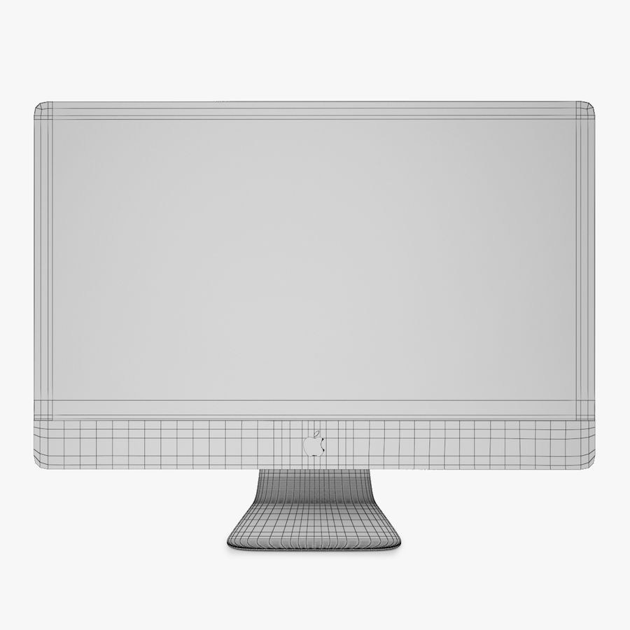 Apple iMac Z wyświetlaczem Retina 5K royalty-free 3d model - Preview no. 7