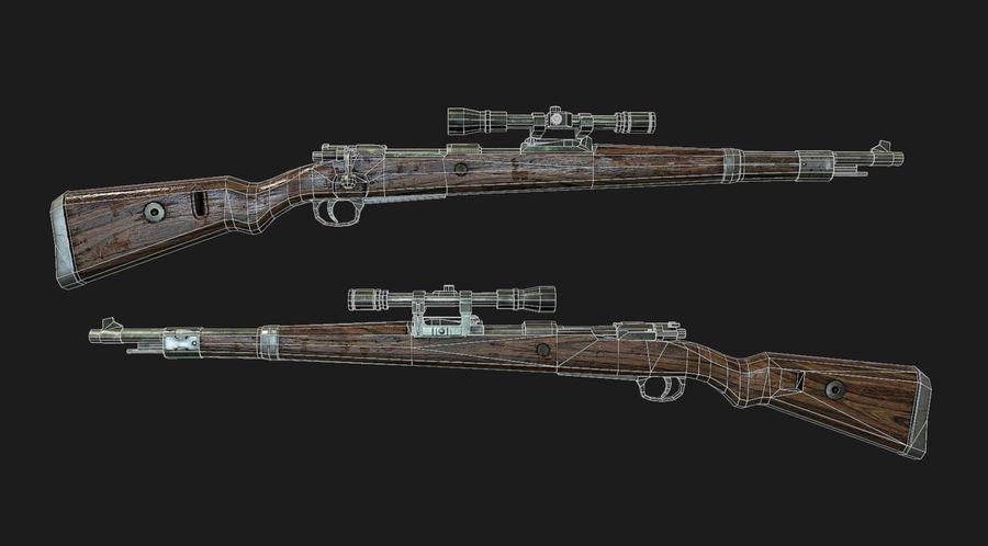 kar98k royalty-free 3d model - Preview no. 3