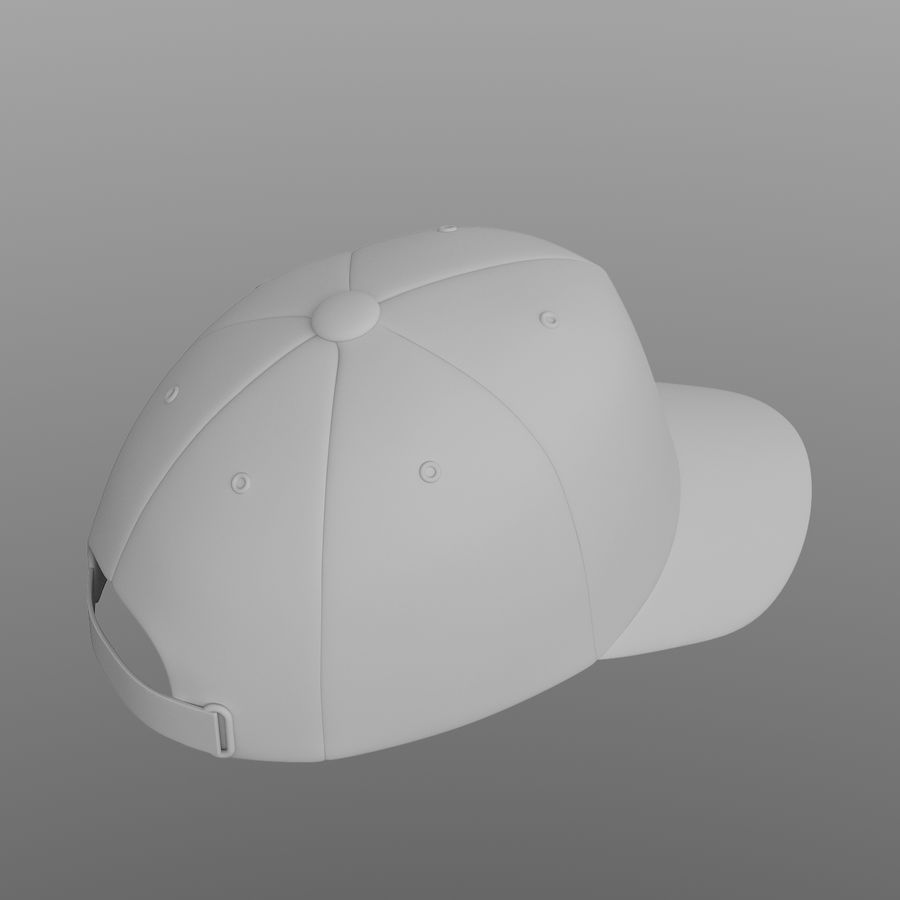 Cap royalty-free 3d model - Preview no. 6
