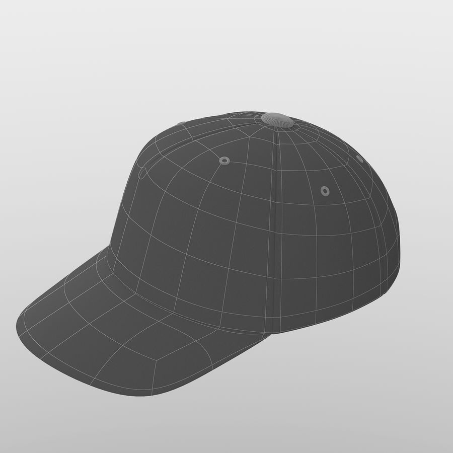 Cap royalty-free 3d model - Preview no. 5