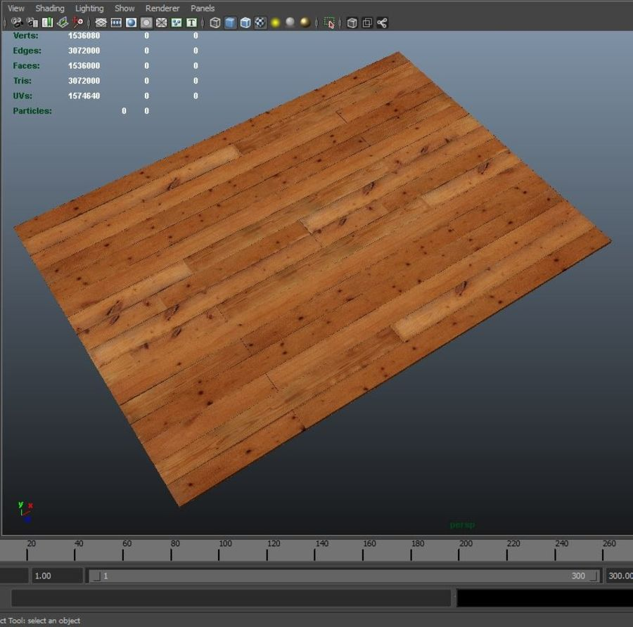 Placas de madeira royalty-free 3d model - Preview no. 4