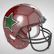 Casco da football 3d model