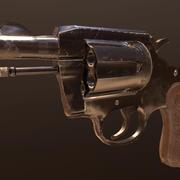 Colt Detective Special .38 3d model