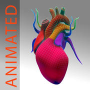 Heart Low High Poly 3d model