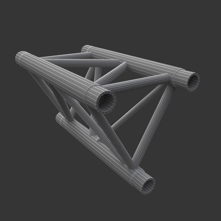 Modular Truss Collection royalty-free 3d model - Preview no. 19