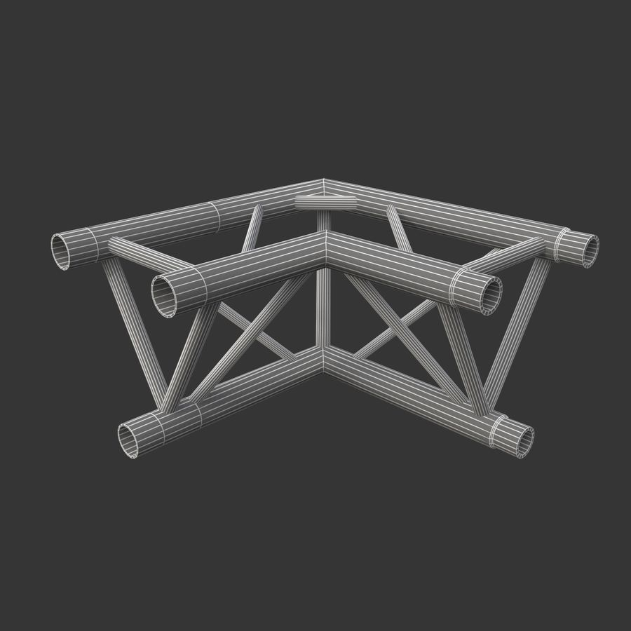 Modular Truss Collection royalty-free 3d model - Preview no. 28