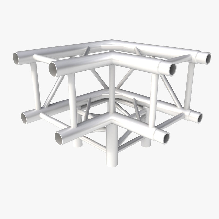 Modular Truss Collection royalty-free 3d model - Preview no. 9