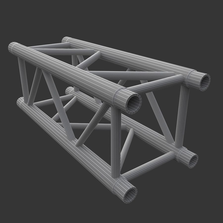 Modular Truss Collection royalty-free 3d model - Preview no. 31
